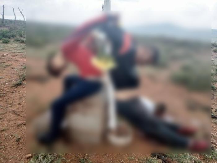 Estas son algunas de las imágenes de la Narcoguerra entre el CJNG y el Cartel de Sinaloa en Zacatecas