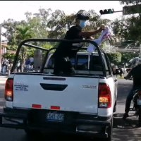 Se revela que los vándalos que participaron de la marcha, son de el Gobierno de Nayib Bukele