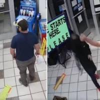 Marine de EU impide asalto armado en tienda